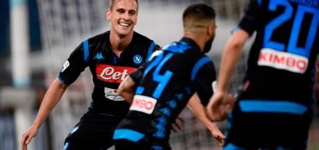 Napoli wint dankzij schitterende goals bij debuut Ancelotti