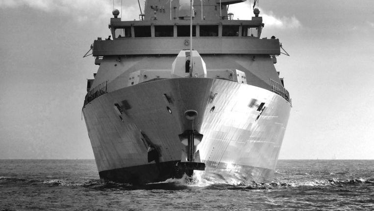 De HMS Dauntless. Beeld epa