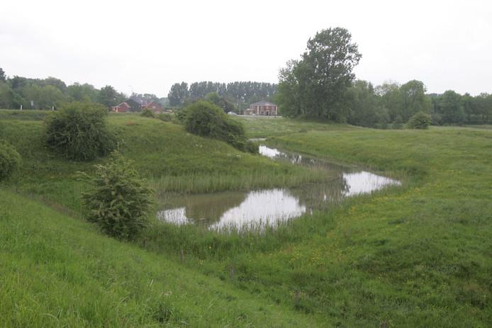 Het Hoornwerk onderaan de Grebbeberg in Rhenen