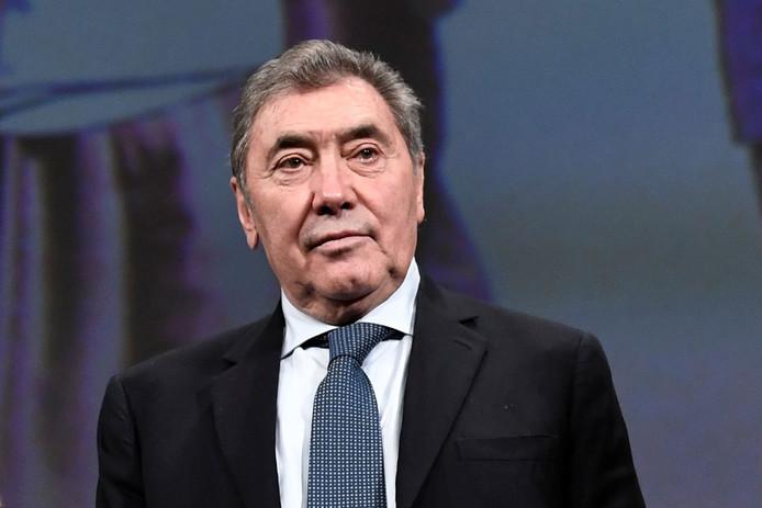 Eddy Merckx op archiefbeeld.