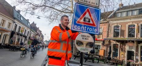 Tilburg stopt met uitschuifbare paaltjes in de binnenstad, stapt over op kentekenherkenning