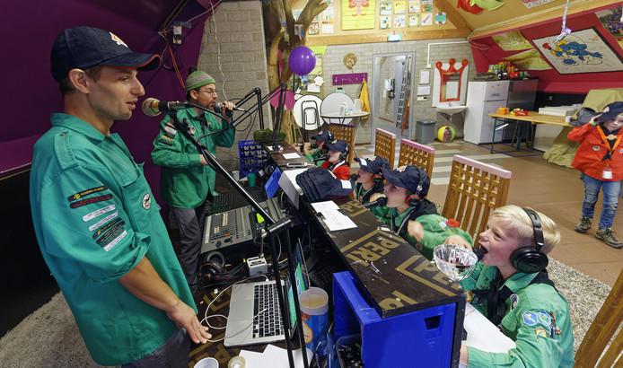 jotari scouting boxtel radio uitzending