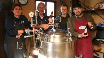 Na knutselen met ketel, motor van ruitenwissers en negen verschillende pogingen: 'Clementus' bier van Moutgaarden komt eraan