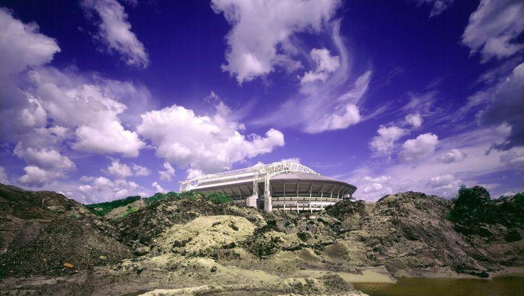 Het splinternieuwe stadion in 1996 Beeld Marco Borggreve