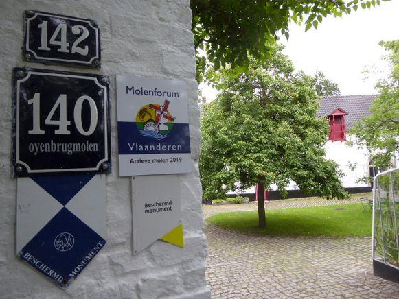 De erkenning is een extra uithangbord voor de Oyenbrugmolen.