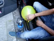 Lachgas: even een korte roes maar ook rotzooi en agressie op straat