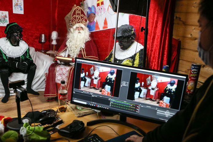 Sinterklaas moet door de coronamaatregelen inventief zijn dit jaar