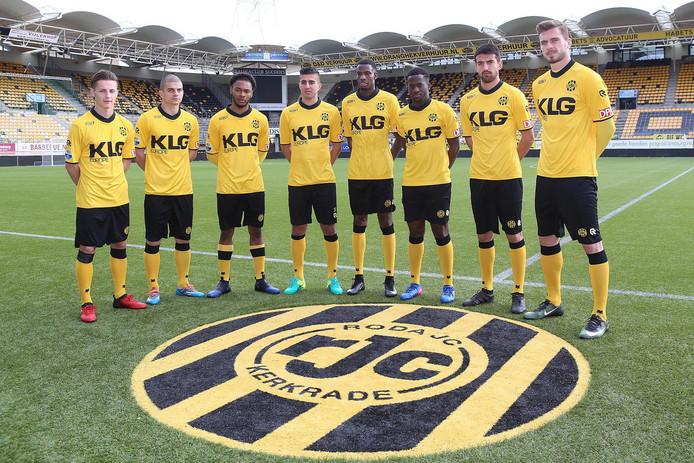Acht van de negen aanwinsten van Roda JC.