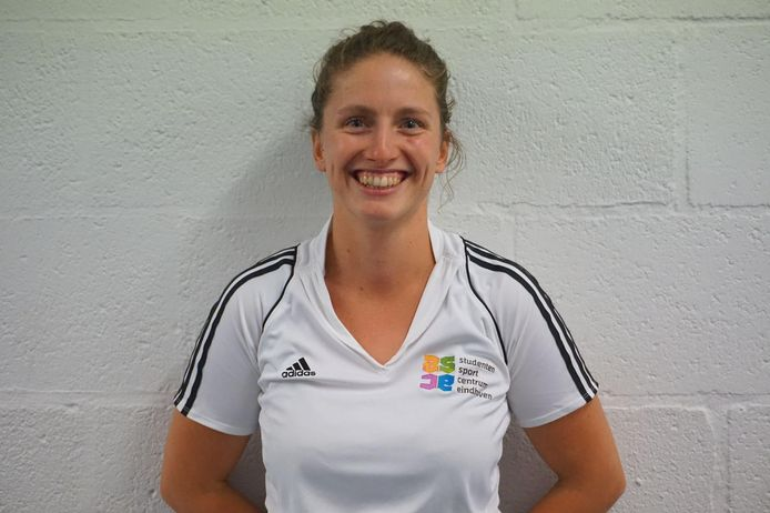 Coach Melissa Grunewald.