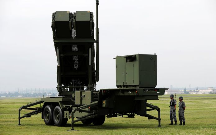 Het Patriot-raketverdedigingssysteem van Lockheed Martin in Japan. Taiwan heeft nu een soortgelijk afweergeschut besteld.