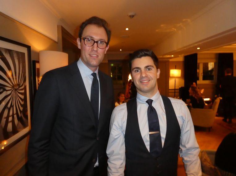 Eloy Umpierrez de Jong en Méric Masclaux van Waldorf Astoria. Masclaux: