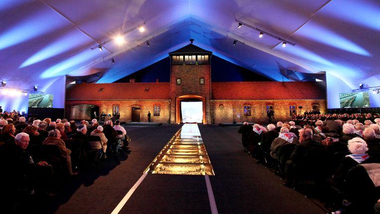 In Auschwitz werd dinsdag de zeventigste verjaardag van de bevrijding herdacht.