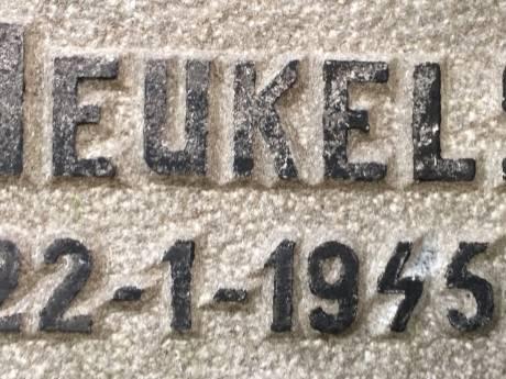 Utrecht wil geschonden graf verzetsheld Heukels restaureren en neemt kosten indien nodig voor eigen rekening
