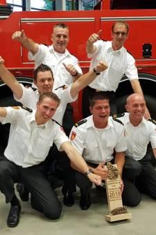 Brandweer Dodewaard blust brand in school het beste
