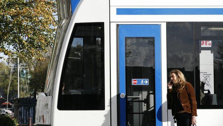 Tram van GVB. Foto Floris Lok Beeld