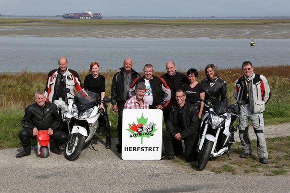 De organisatoren van de 23ste Herfstrit in Zeeuws-Vlaanderen.