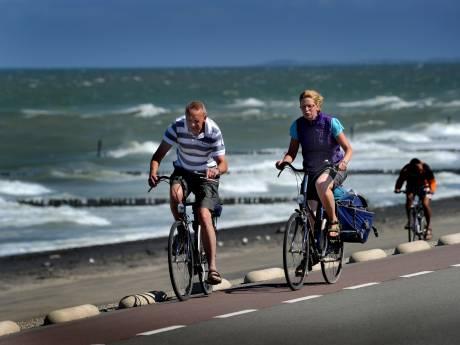 Slechts een banddikte verschil; Zeeland nét niet de beste fietsprovincie van het land