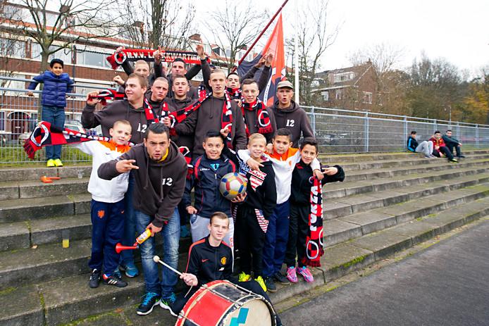 Archieffoto HVV Laakkwartier Den Haag (de kinderen op deze foto behoren, voor zover bekend, niet tot de doelgroep van de actie)