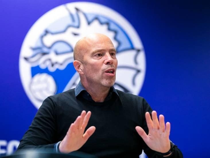 FC Den Bosch-voorzitter Jan-Hein Schouten gaat ook in Zeist om hulp vragen