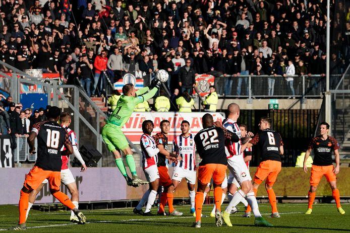 Willem II - PSV eindigde vorig seizoen in een 2-1-zege voor de Tilburgers.