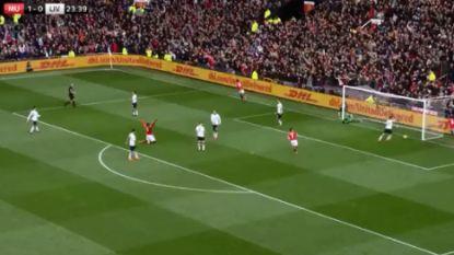 Old Trafford op de banken, Lukaku op de knieën na fantastische goal Rashford in felbevochten zege tegen Liverpool