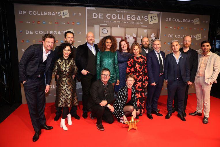 De cast van 'De Collega's 2.0'.
