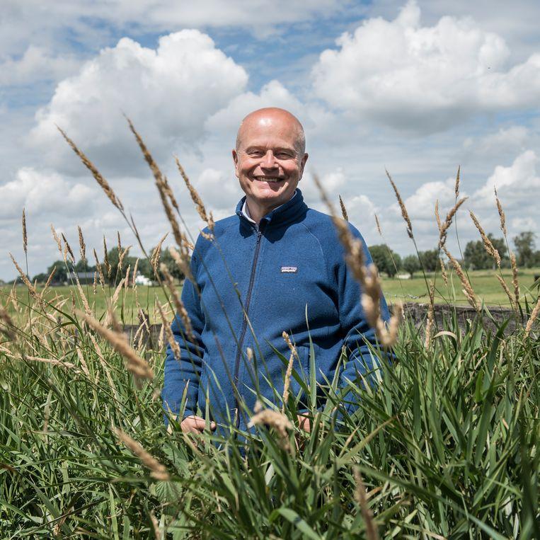 We moeten veel geduld hebben, zegt Willem Ferwerda. Er is ten minste 20 jaar nodig om een gegradeerd landschap nieuw leven in te blazen.  Beeld Eva Faché