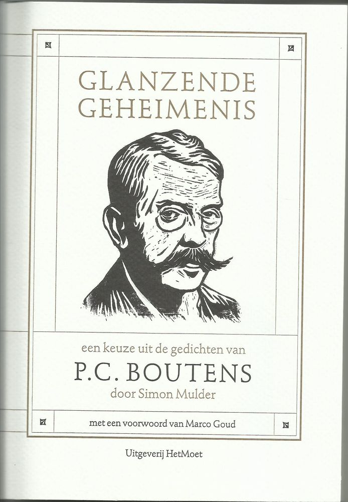 Omslag P.C. Boutens, Glanzende geheimenis