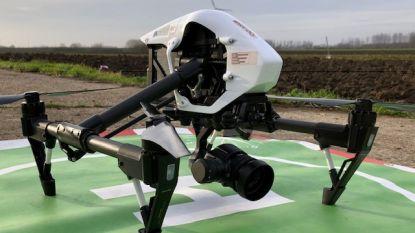 Drone maakt inventaris van begraafplaatsen