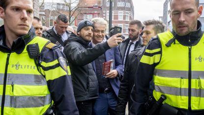 Opgepakte man bij flyeractie Wilders had bijl en messen bij zich