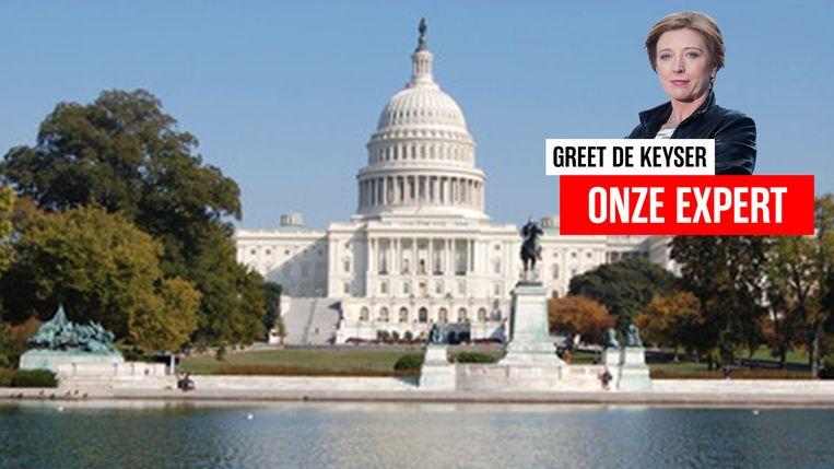Washington met Greet De Keyser.