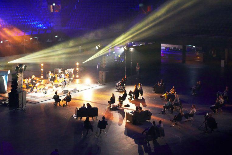Het optreden van Danny Vera in Ziggo Dome in Amsterdam. Beeld Daniel Cohen