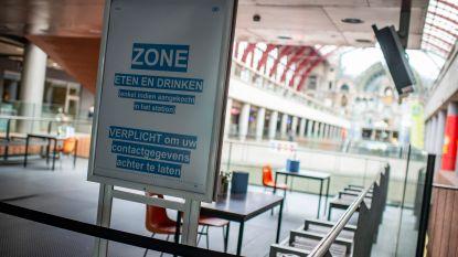 """Toch iets eten of drinken in Antwerpen-Centraal? Voortaan kan dat in mondmaskervrije zone: """"Maximaal twaalf personen en registeren is verplicht"""""""