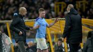 Wolves van Dendoncker slaan City definitief uit titelrace na straffe comeback, De Bruyne niet tevreden met wissel