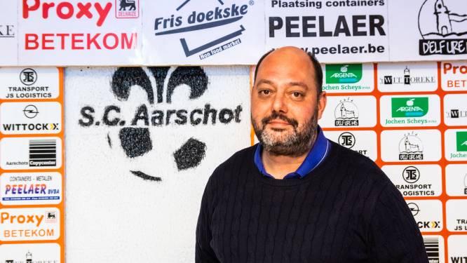 """Voorzitter Dimitri Van Camp (SC Aarschot): """"Clubs worden in het ongewisse gelaten"""""""