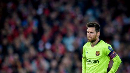 Uitspraak van Messi voor het seizoen keert na nederlaag tegen Liverpool opvallend hard terug