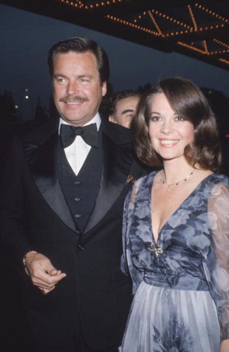 Met echtgenoot Robert Wagner, 1980. Beeld
