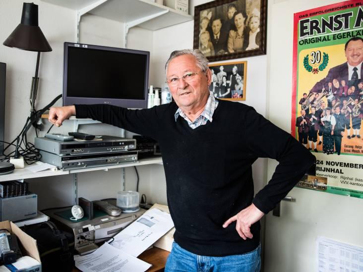Hans Hoen heeft altijd foto's over Huissen paraat
