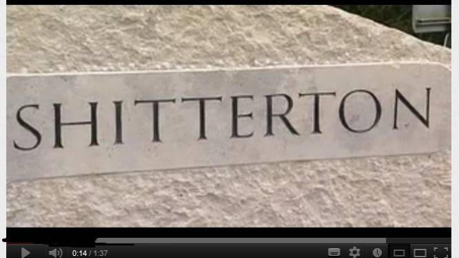 Shitterton verkozen tot meest gênante plaatsnaam