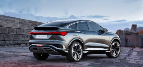 Audi onthult nieuwe elektrische SUV-coupé: Q4 Sportback e-Tron