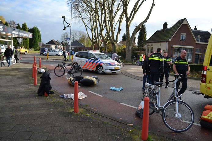 Ongeval in Gendt.