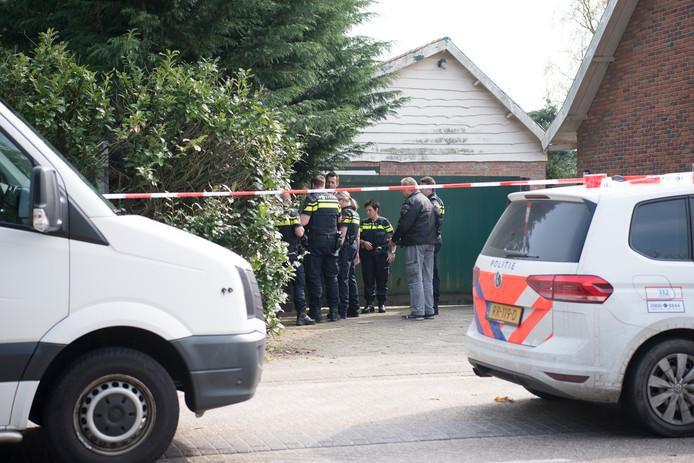 Politie-onderzoek bij de woning aan het Putsmolentje.