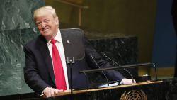 Gelach om borstklopperij van Trump bij  VN
