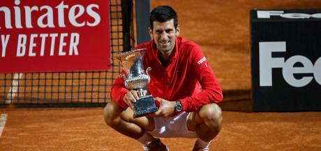 Djokovic sacré à Rome pour la cinquième fois