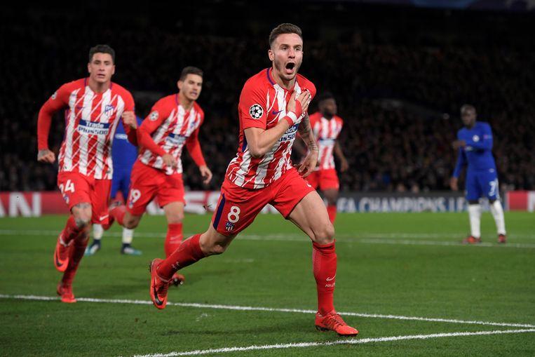 Al die kilometers zag Ñiguez tegen Chelsea beloond met een doelpunt.