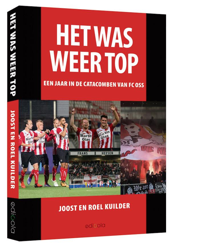 De omslag van het boek over FC Oss.
