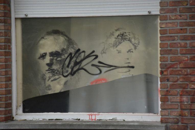 Een restant van het kunstproject Kunst-Doel, dat vijf jaar geleden werd georganiseerd in het dorp.