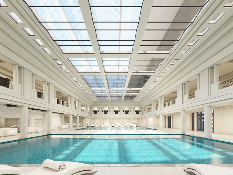 In het hotel zou ook een spa komen.