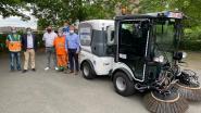 Stad neemt nieuwe straatveegmachine in gebruik