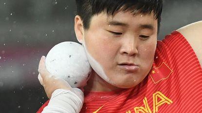 Chinese kogelstootster Gong Lijiao heeft eindelijk goud beet